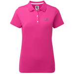 9932 Footjoy Women's Short Sleeved Pique Shirt