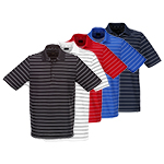 9938 Greg Norman Core Fine Stripe Polo Shirt