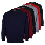 9965 PQ Lambswool Crew Neck Sweater