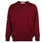 9966 PQ Lambswool V Neck Sweater