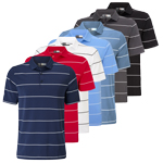 CGKS60D2 Callaway Chev Auto Striped Polo Shirt