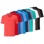 CGKS60N1 Callaway Chev Solid Polo Shirt
